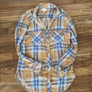 Anthropologie Cloth & Stone Cotton Top